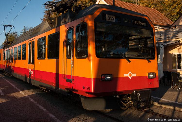 Mit der S 10 vom Hauptbahnhof in nur 20 Minuten