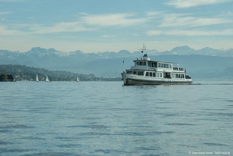 Seerundfahrt auf dem Zürichsee