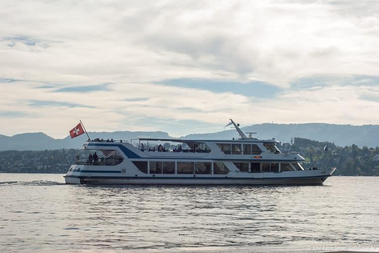 Auf dem Zürichsee