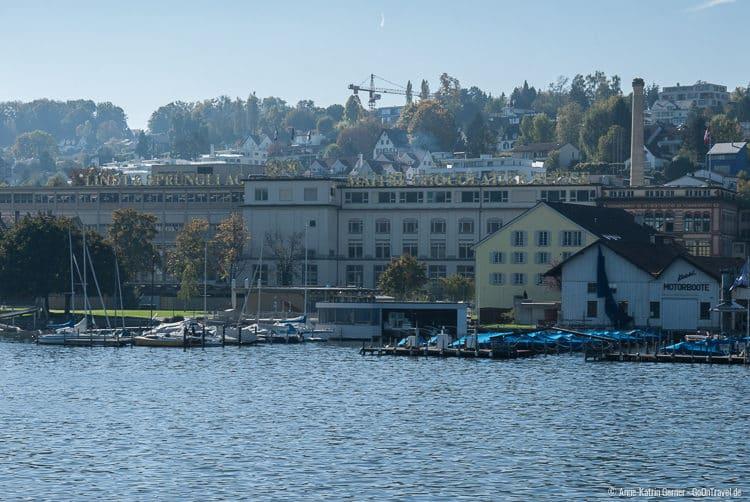 Schokoladenfabrik Lindt & Sprüngli am Zürichsee
