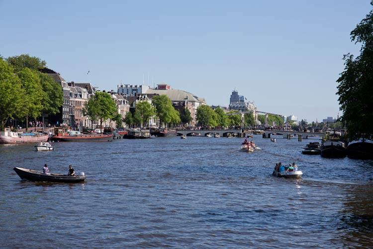 Die Amstel in Amsterdam