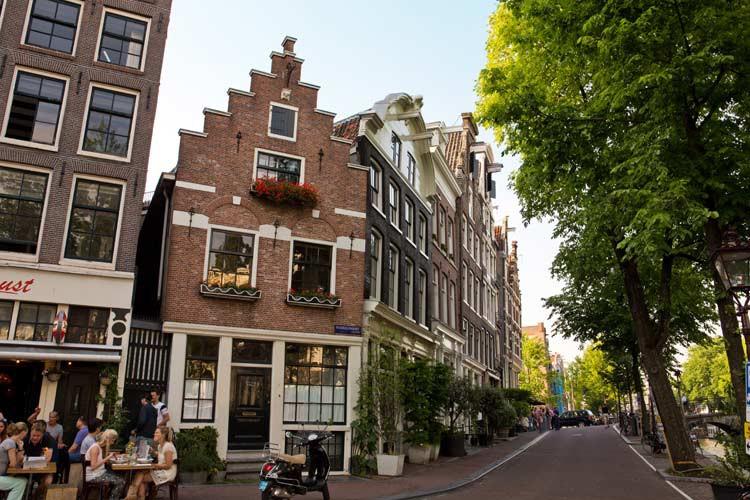 Prinzengracht von Amsterdam