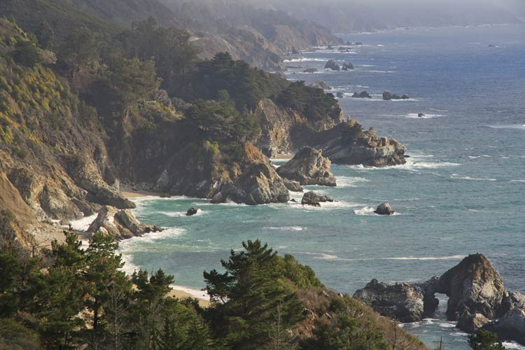 Der Big Sur in Kalifornien