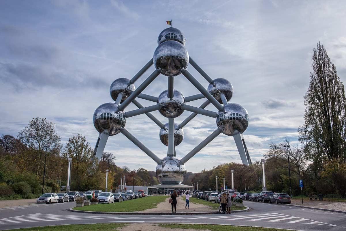 Beliebte Sehenswürdigkeit in Brüssel: das Atomium
