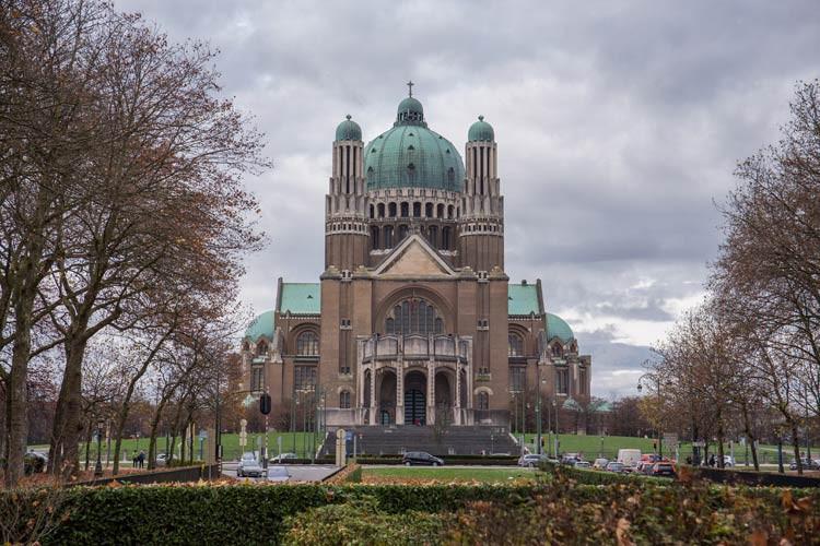 Die Basilika von Koekelberg