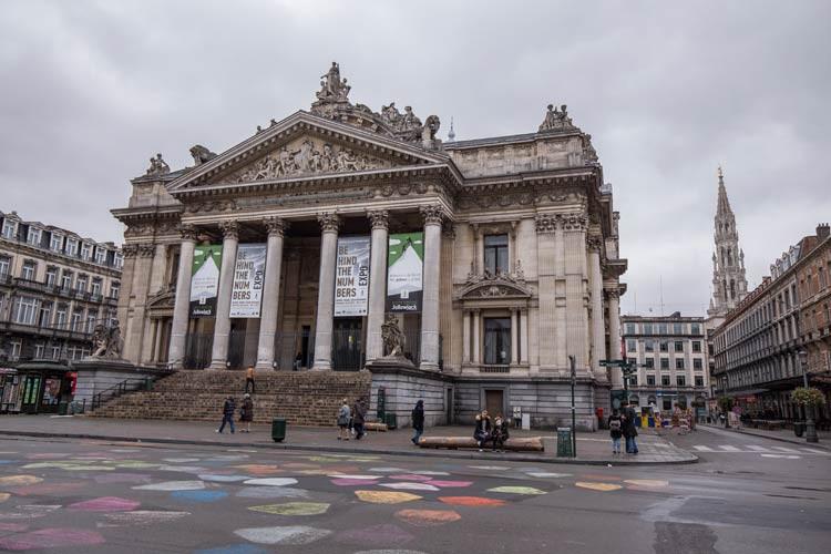 Die Brüsseler Börse