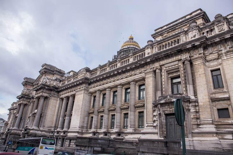 Der Justizpalast von Brüssel