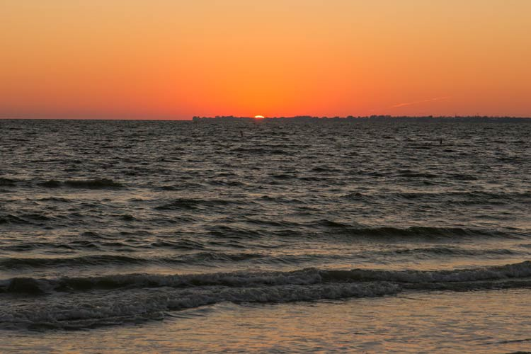 Sonnenuntergang am Fort Myers Beach