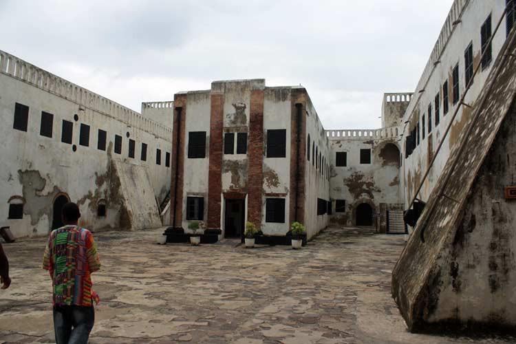 Innenhof von Elmina Castle