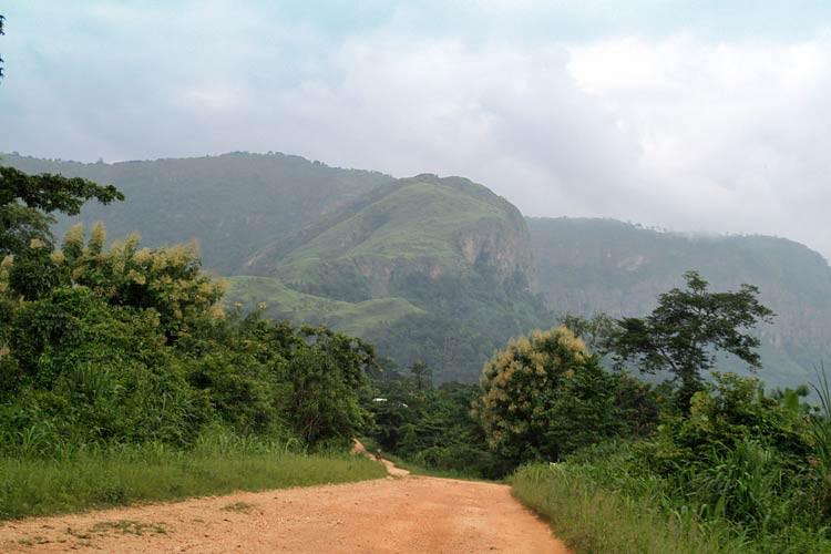 In der Volta Region von Ghana