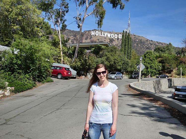 Das Hollywood Zeichen