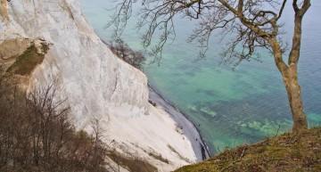 Die Kreidefelsen auf Dänemarks Insel Mön