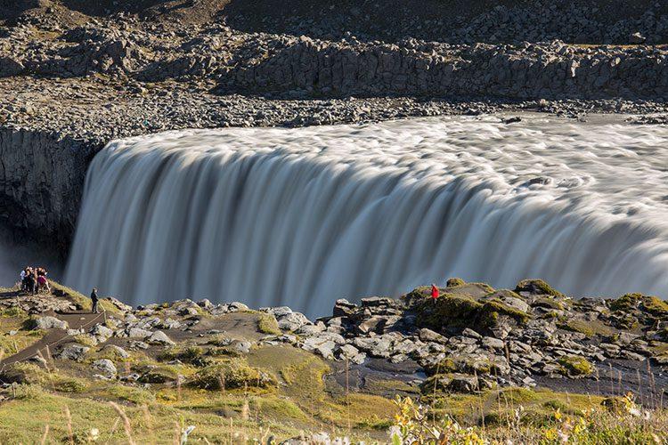 Der Dettifoss im Norden auf Island