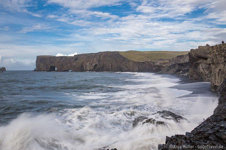 Dyrholaey an der Südküste von Island