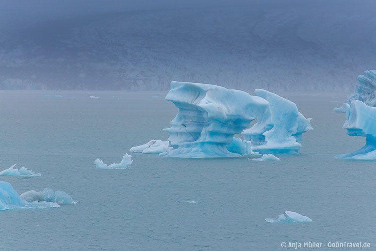 Treibeis in der Jökulsalon Glacier Lagoon