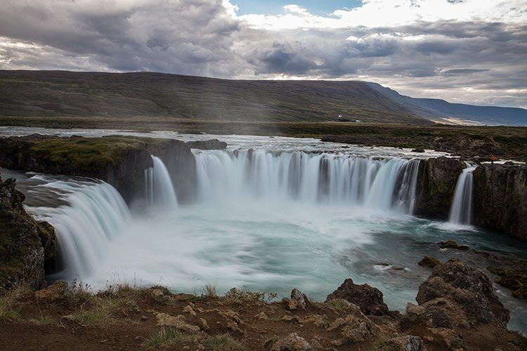 Der Goðafoss im Norden von Island