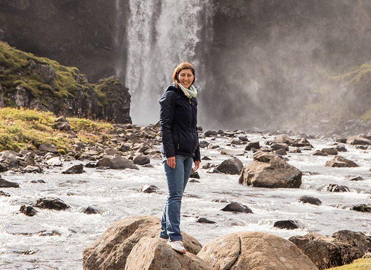 Mein Liebster Wasserfall auf Island - Der Gufufoss