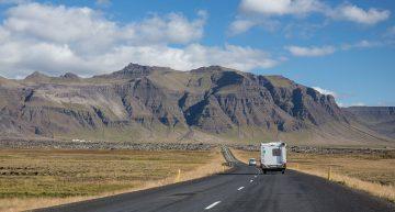 Die Halbinsel Snæfellsnes im Westen Islands