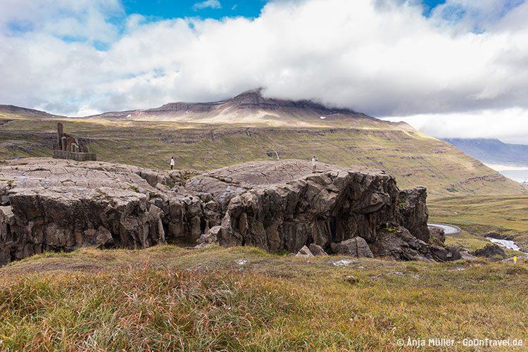 In den Ostfjorden von Island