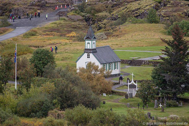 Die Kirche von Þingvellir gehört zu den ältesten auf Island.