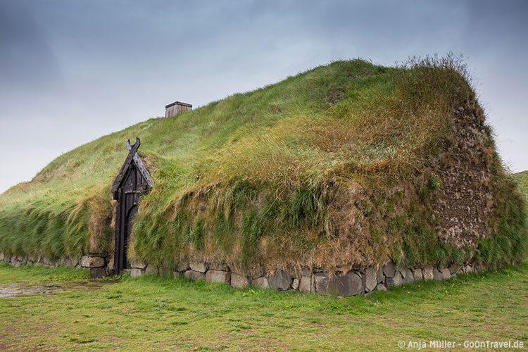 So wohnten einst isländische Siedler