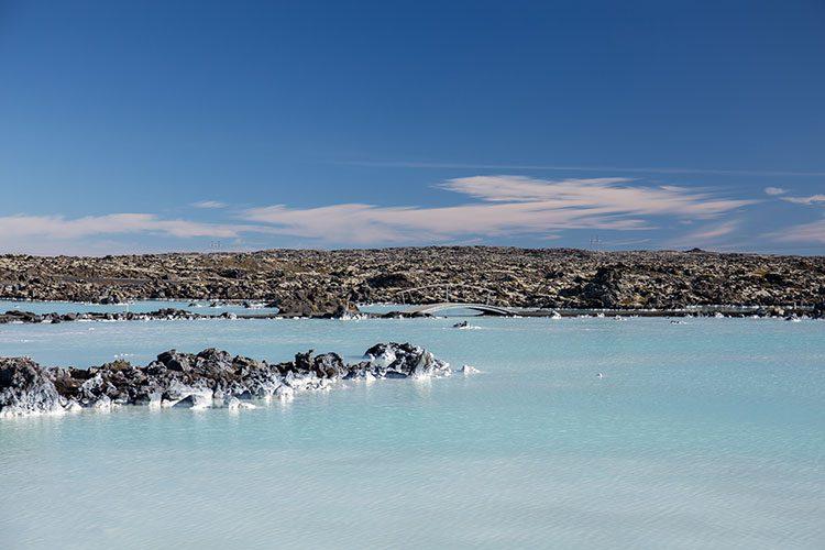 Bei der Blue Lagoon auf Island