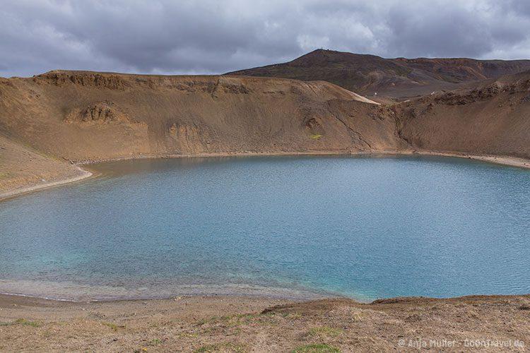 Der Stora Viti - Kratersee.