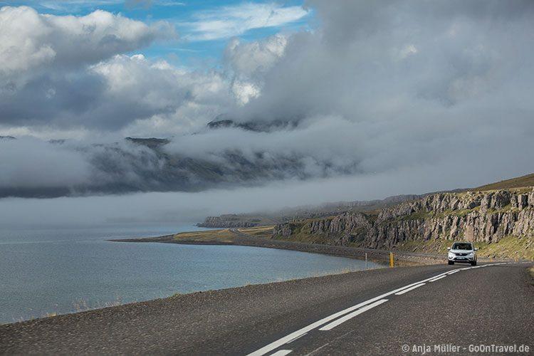 Unterwegs im Süden von Island