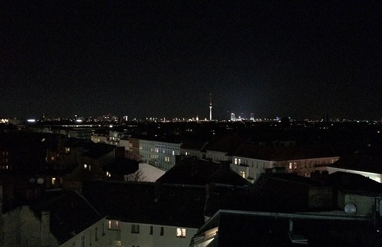 Blick auf Berlin vom Dach der Neukölln Arcaden!