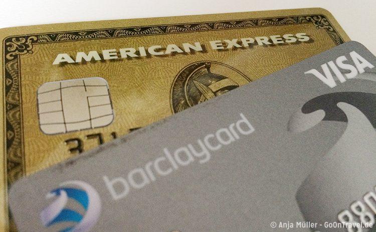 Auf Island kannst du vorrangig Kreditkarten nutzen.