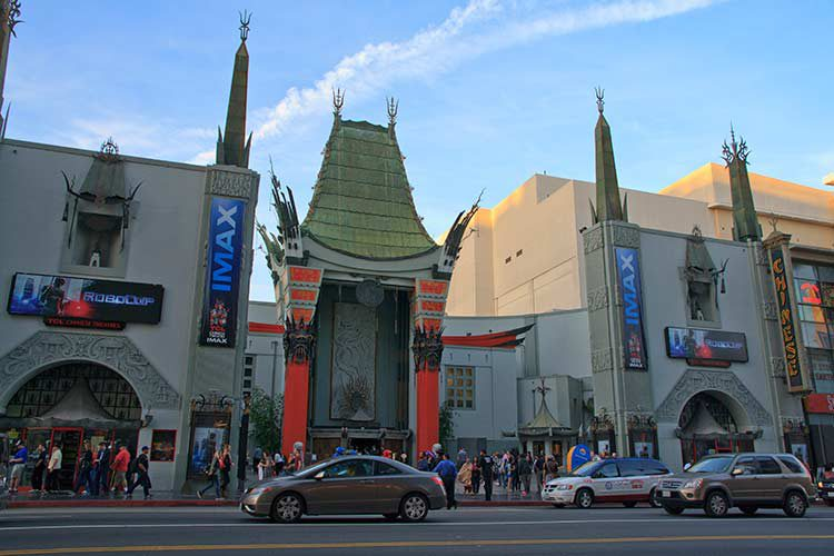 Das Chinese Theatre in Hollywood