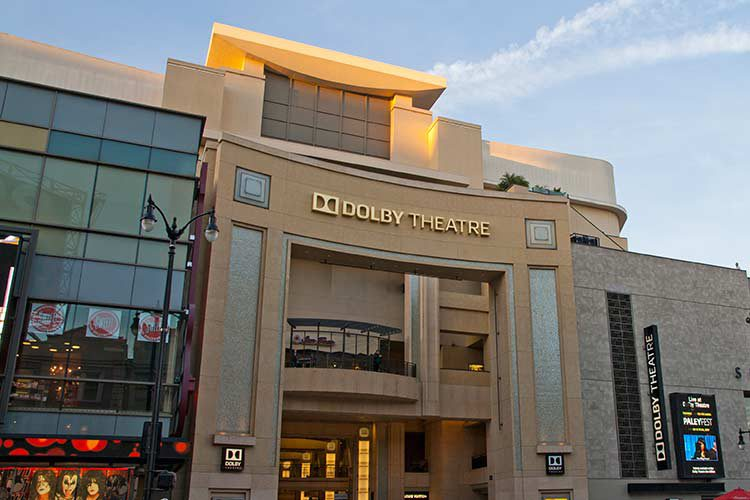 Das Dolby Theatre in Hollywood