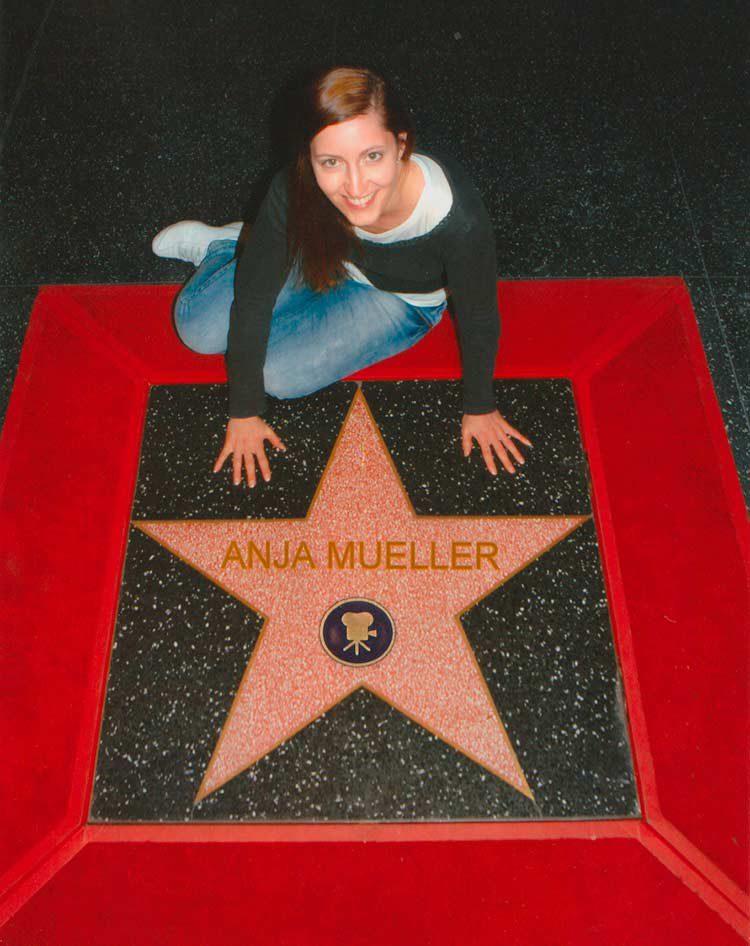 Mein eigener Stern auf dem Walk of Fame