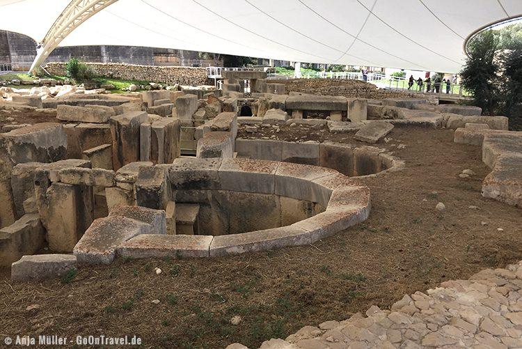Die Tempelanlagen von Tarxien