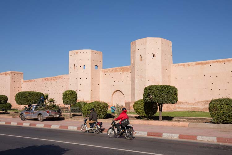 Stadtmauer von Marrakesch
