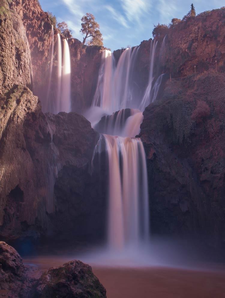Die Ouzoud-Wasserfälle