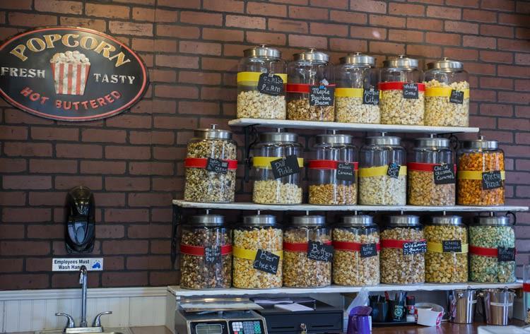 Popcorn mit extravaganten Geschmacksrichtungen