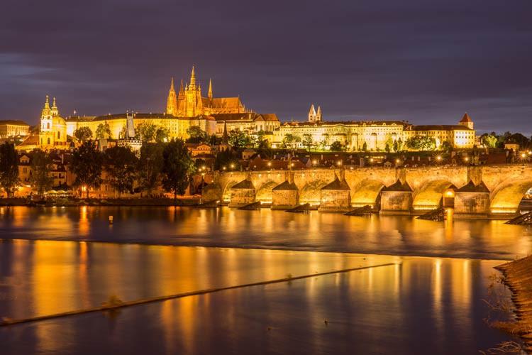Prag am Abend