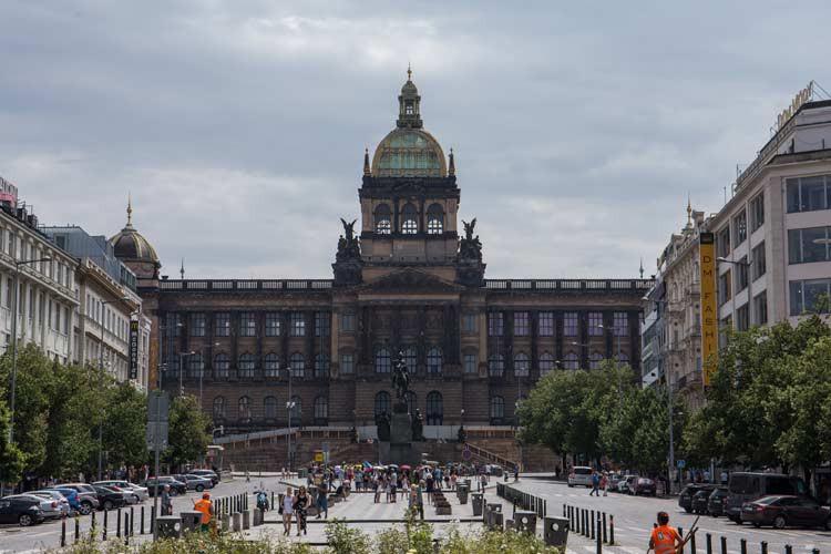 Wenzelsplatz mit dem National Museum