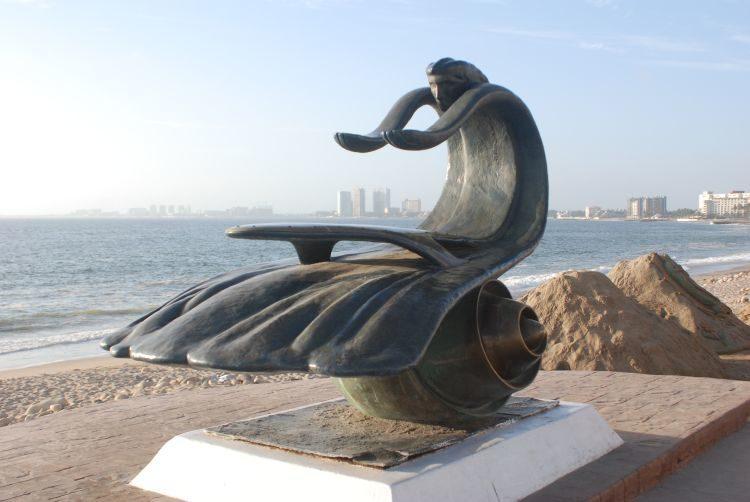 auf der Malecón von Puerto Vallarta