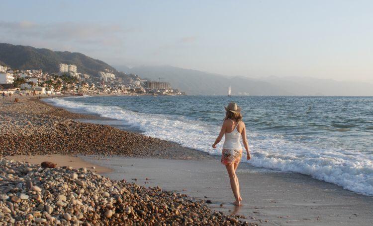 Strandspaziergang Puerto Vallarta