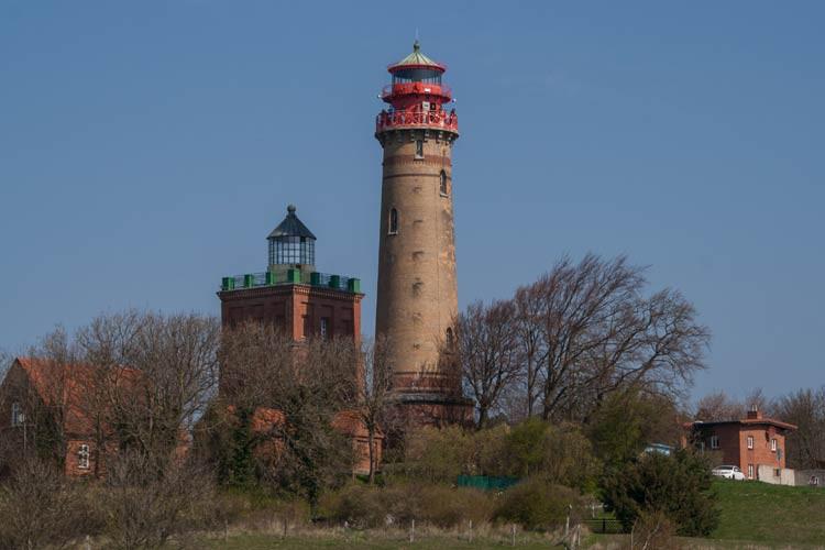Leuchtturm bei Kap Arkona auf Rügen