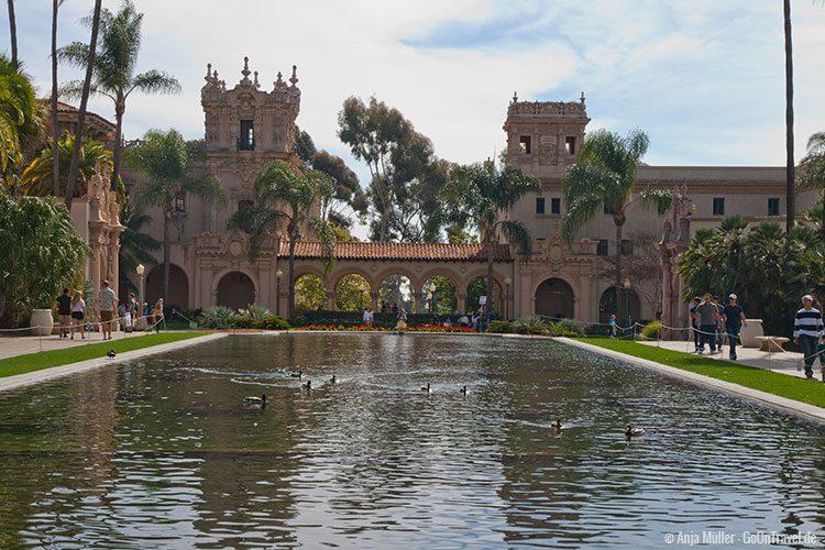 Tolle Architektur im Balboa Park