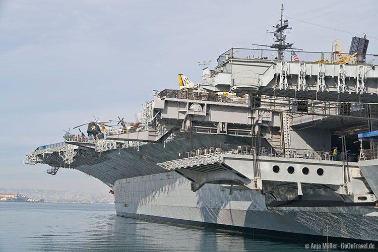 Flugzeugträger USS Midway San Diego