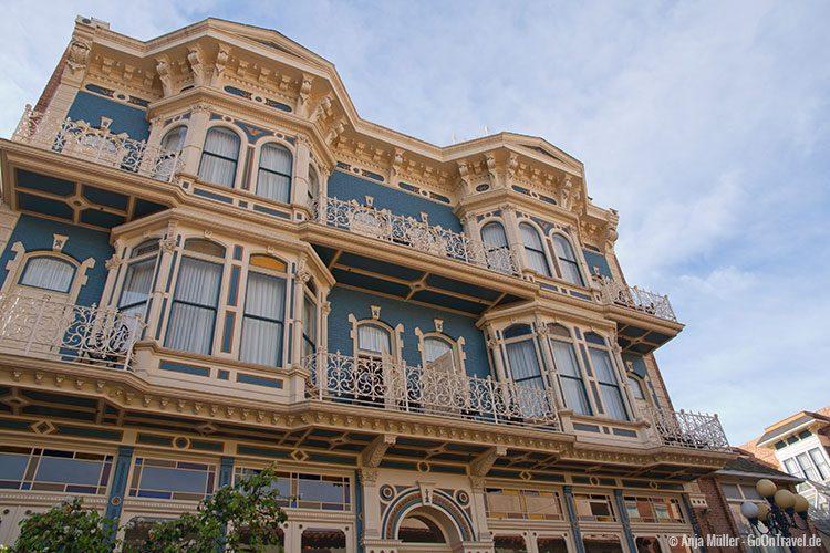 Viktorianisches Haus im Gaslamp Quarter in San Diego
