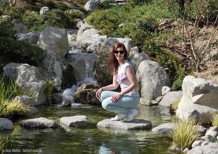 Im Japanischen Garten im Balboa Park