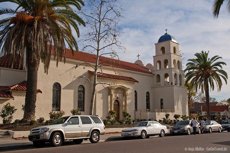 Eine Kirche in San Diego