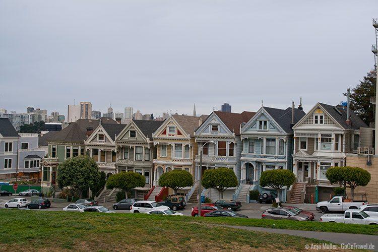 GoOnTravel.de: Die berühmten viktorianischen Häuser in San Francisco