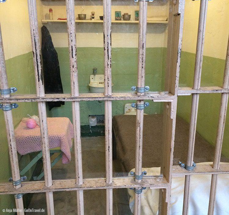 Gefängniszelle auf Alcatraz
