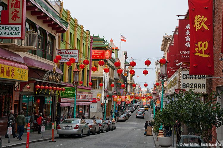 In Chinatown von San Francisco